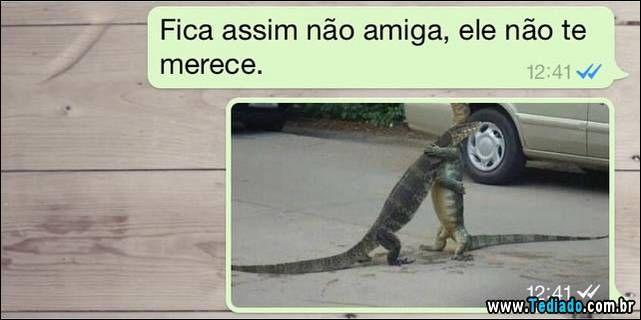 Imagem Para Grupo De Amigos No Whatsapp: 25 Conversa De Whatsapp Engraçadas - Blog