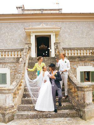 burda style - Schnittmuster - Bodenlanges Brautkleid aus Taft und ...