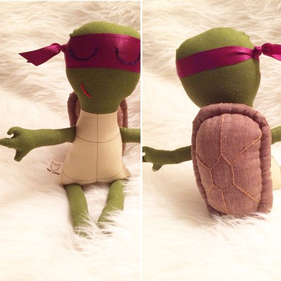 Adolescent amphibian fighter doll by SweetLittlesHandmade on Etsy, $75.00