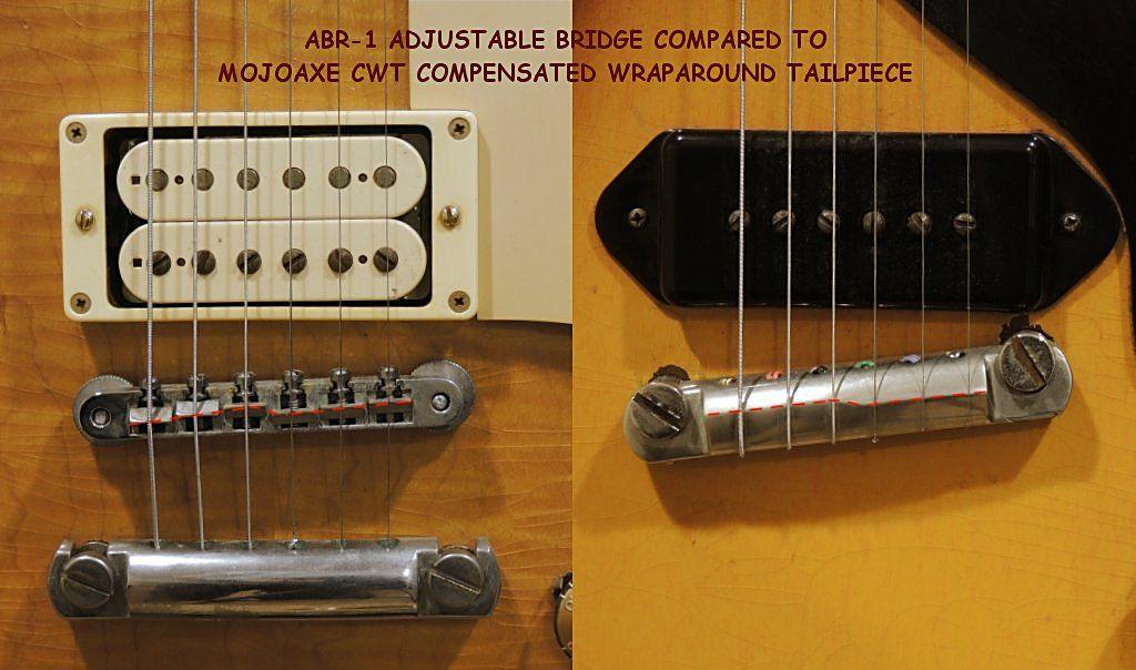 MojoAxe Custom Guitar Parts | Wraparound Bridge | Guitar