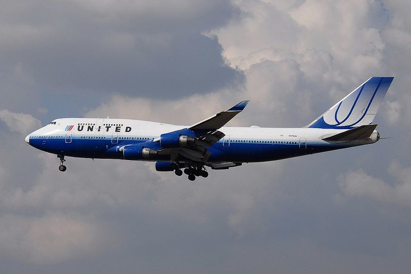 N174UA Boeing 747-422 United Airlines