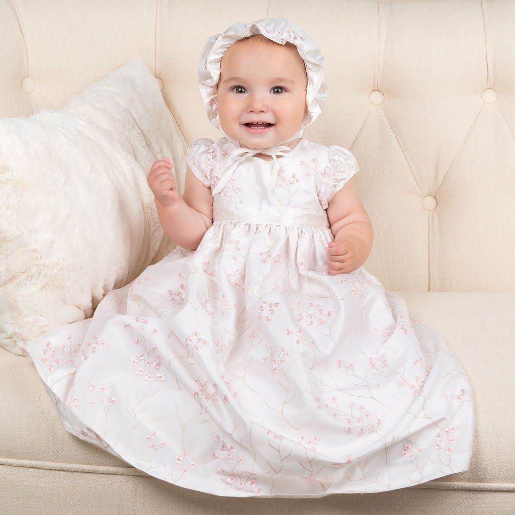 May Lin Long Christening Dress | Christening gowns