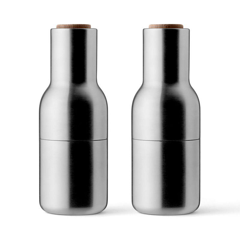 Bottle grinders set of 2 bottle grinder brushed
