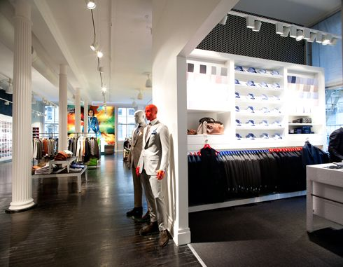 Suitsupply NYC 453 Broome st.. We gotta check this out!