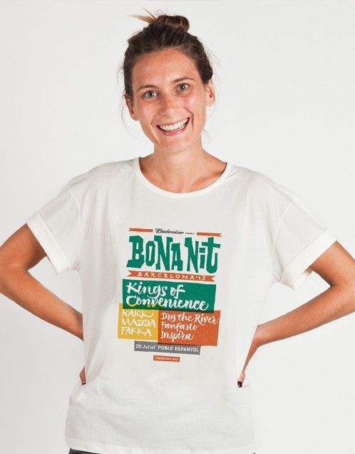 Este sábado vamos a estar en el festival de música Bona Nit Barcelona. Compra el merchandising oficial del Bona Nit a través de nuestra página web y recógelo en nuestro pop-up el mismo día del festival.