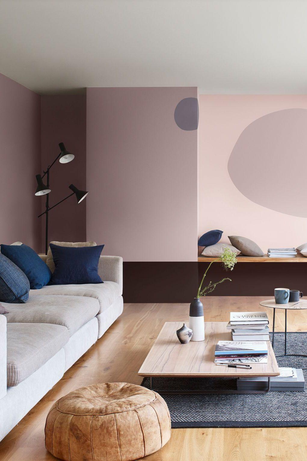 Peinture salon 30 couleurs tendance pour repeindre le salon salon pinterest peinture - Idee couleur pour salon ...