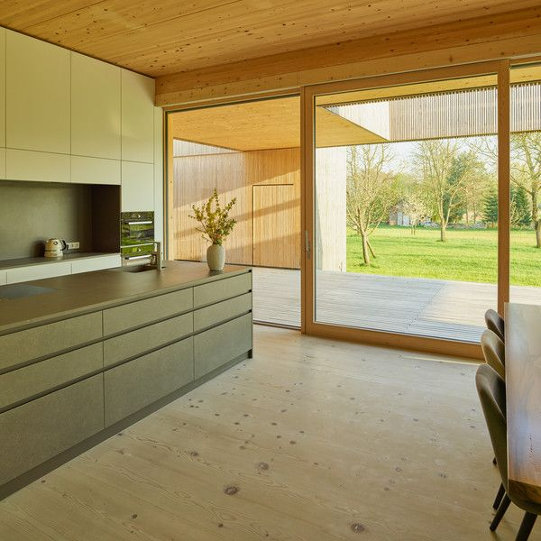 Niederösterreichischer Holzbaupreis - Einfamilienhaus Harreither - küchen luxus design