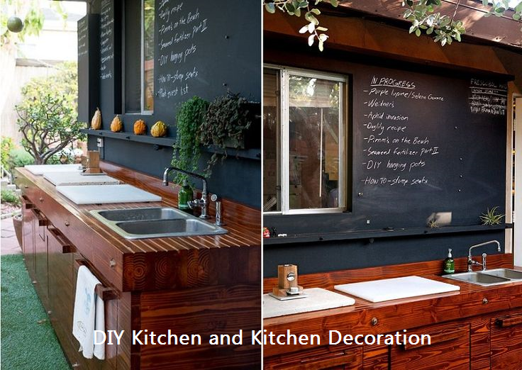 21 Inspiring Ways To Use Chalkboard Paint On a Kitchen 1 | Your ...