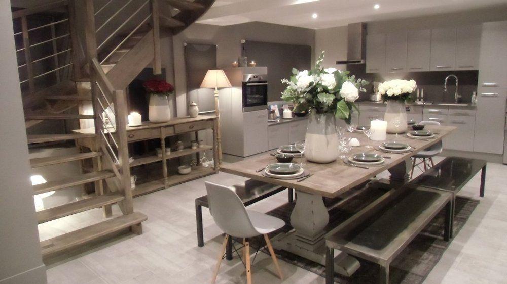 cuisine salle a manger photos de conception de maison brafketcom - Amenagement Salle A Manger Salon