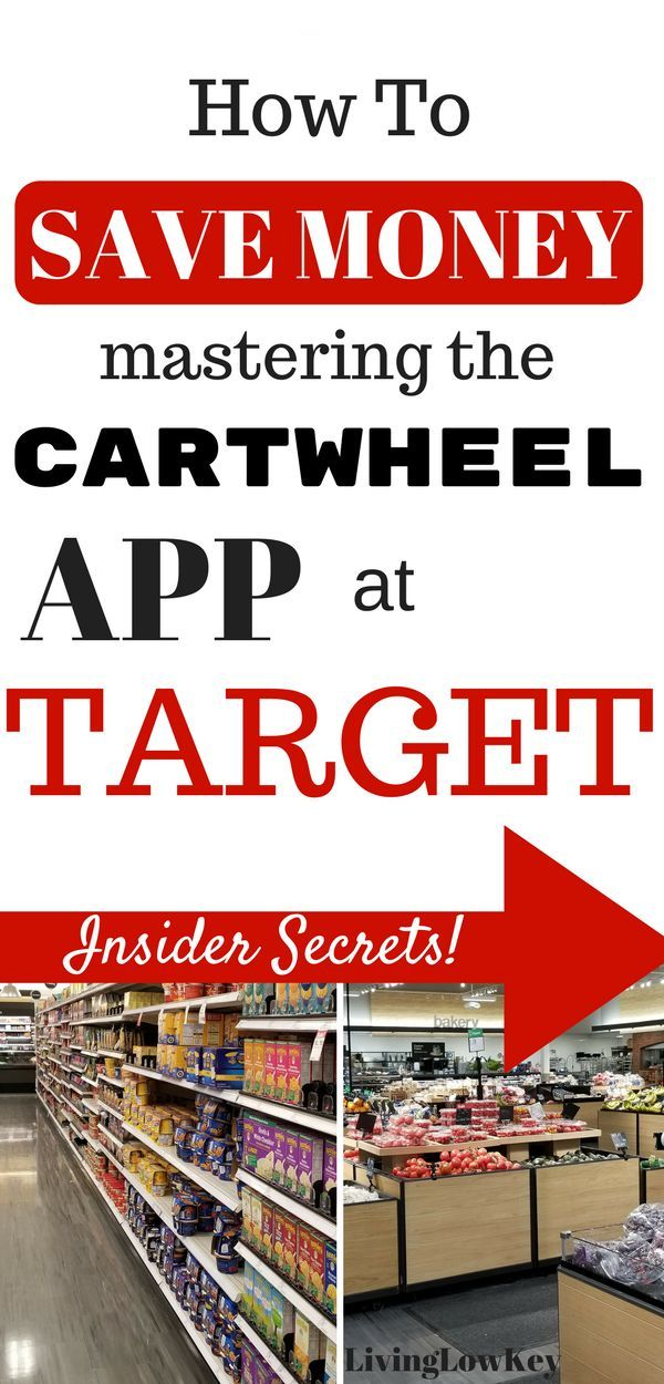 How To Save Money Mastering The Cartwheel App At Target