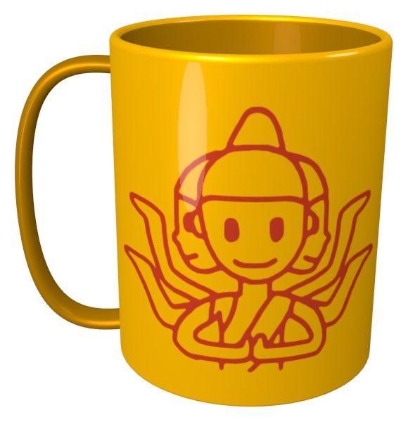 Asura Mug / #Tableware #阿修羅