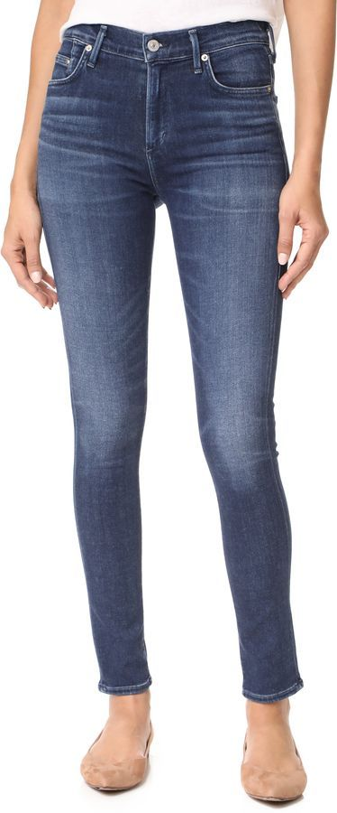 113aacbe61a29 Citizens of Humanity Sculpt Rocket High Rise Skinny Jeans