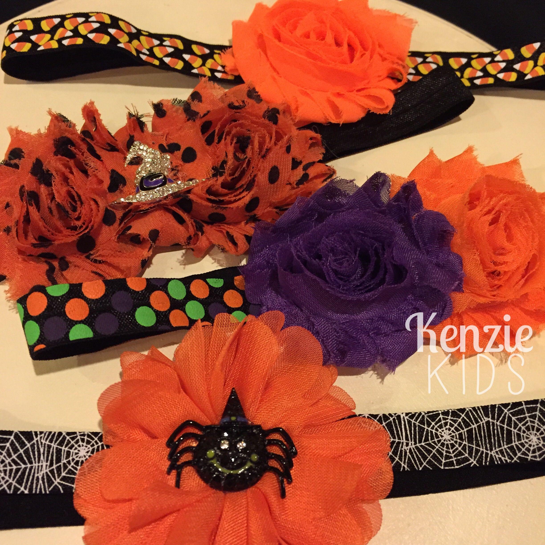 halloween headbandskenzie kids boutique (witch hat, spooky