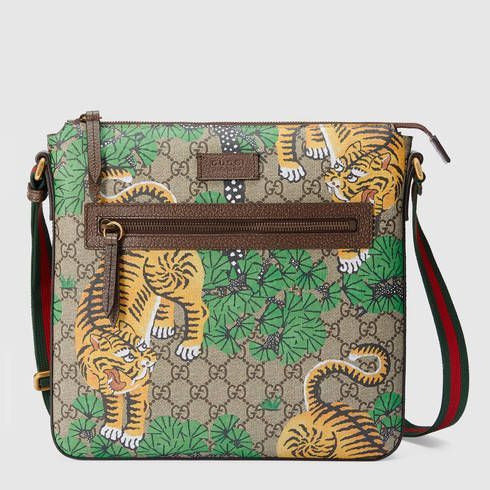2d562864db6f GUCCI Gucci Bengal Gg Supreme Messenger.  gucci  bags  leather  canvas