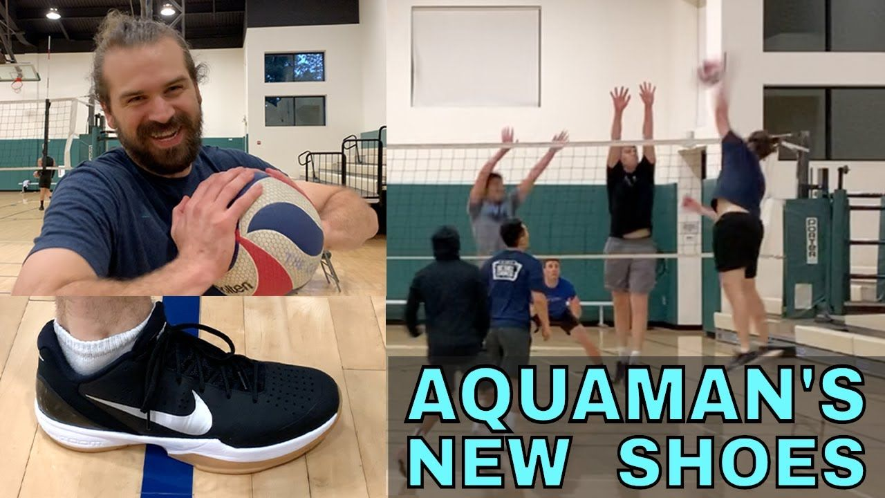 Aquaman S New Shoes Open Gym Volleyball 4 25 19 Part 2 Open Gym Volleyball Training New Shoes