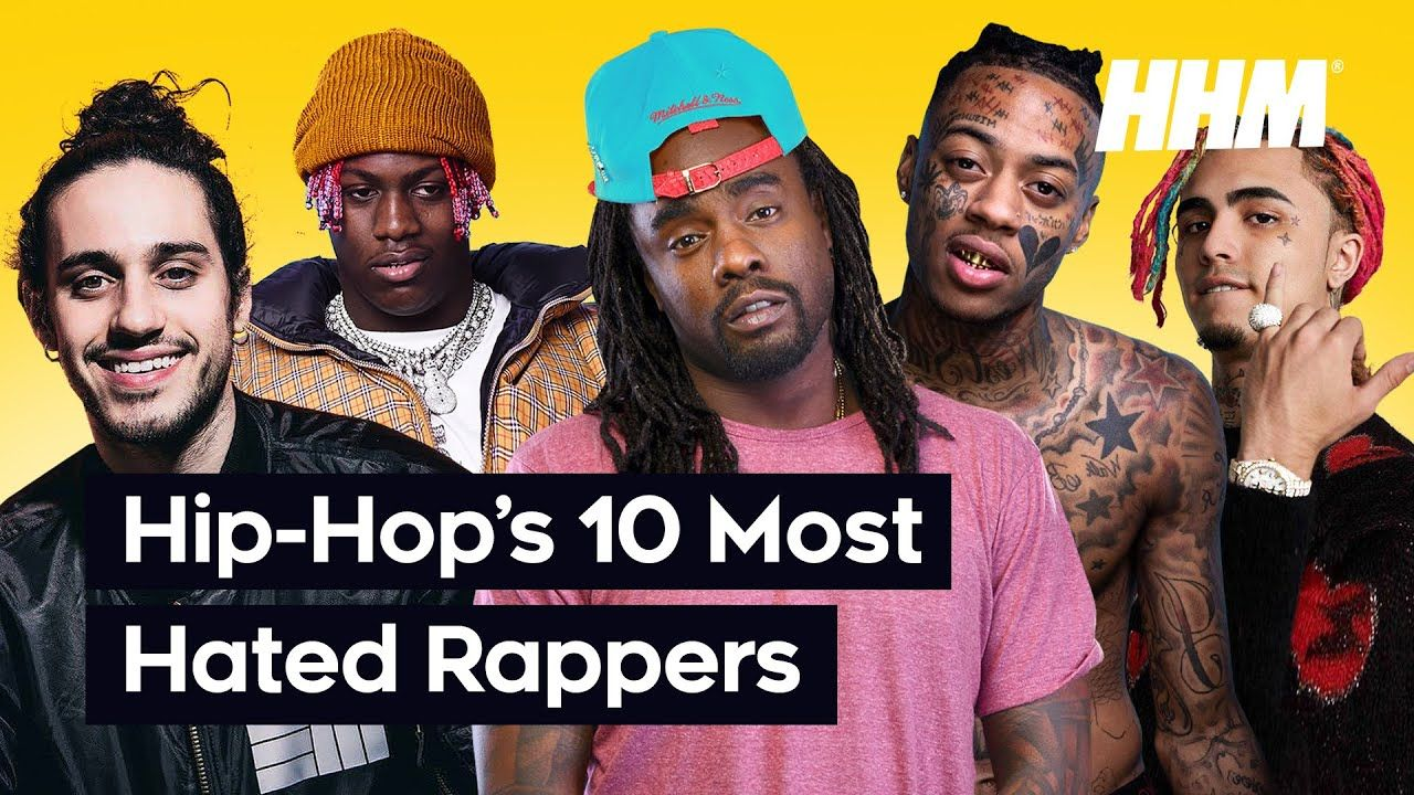 Top 10 Most Hated Rappers in Hip Hop in 2020 Rappers