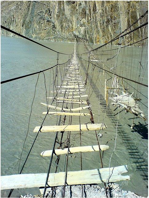 Bridge in Northern Pakistan