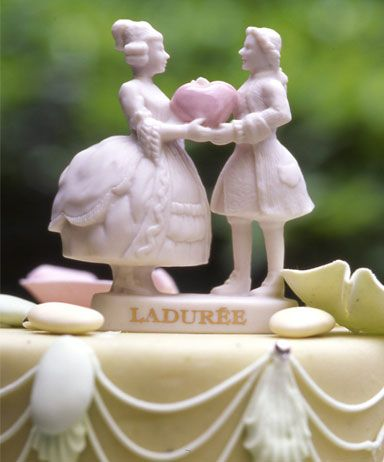 @Laduree #wedding #cake #toppers