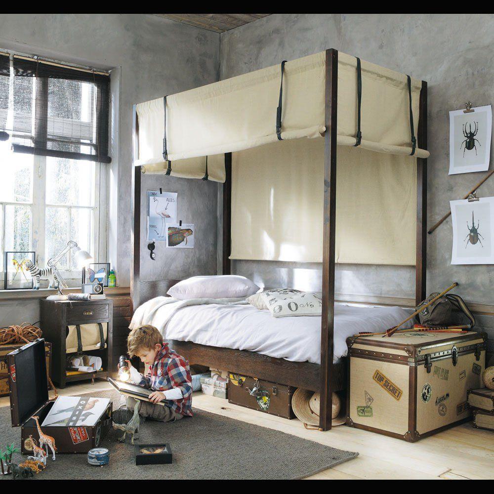 Lit à baldaquin enfant PHILEAS FOGG | Chambre camille | Pinterest ...
