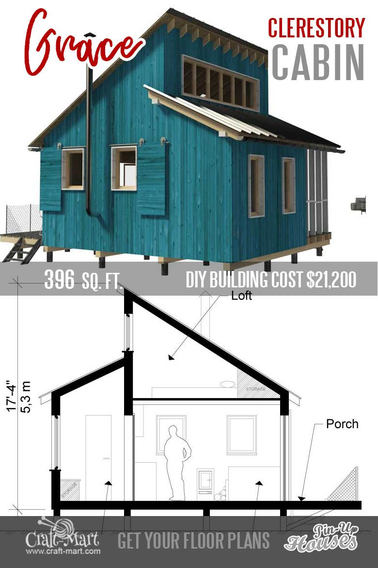 9 Plans Of Tiny Houses With Lofts For Fun Weekend Projects Craft Mart Tiny House Loft Micro House Plans Micro House