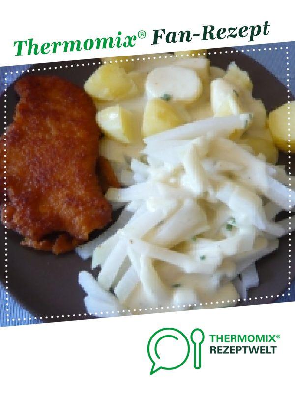 Kohlrabigemüse mit Kartoffeln und heller Soße