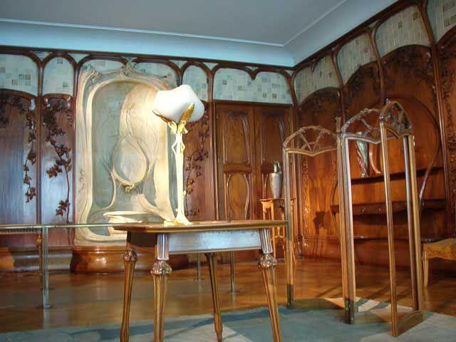 Muebles art nouveau del museo de Orsay | ART NOUVEAU | Interiors ...
