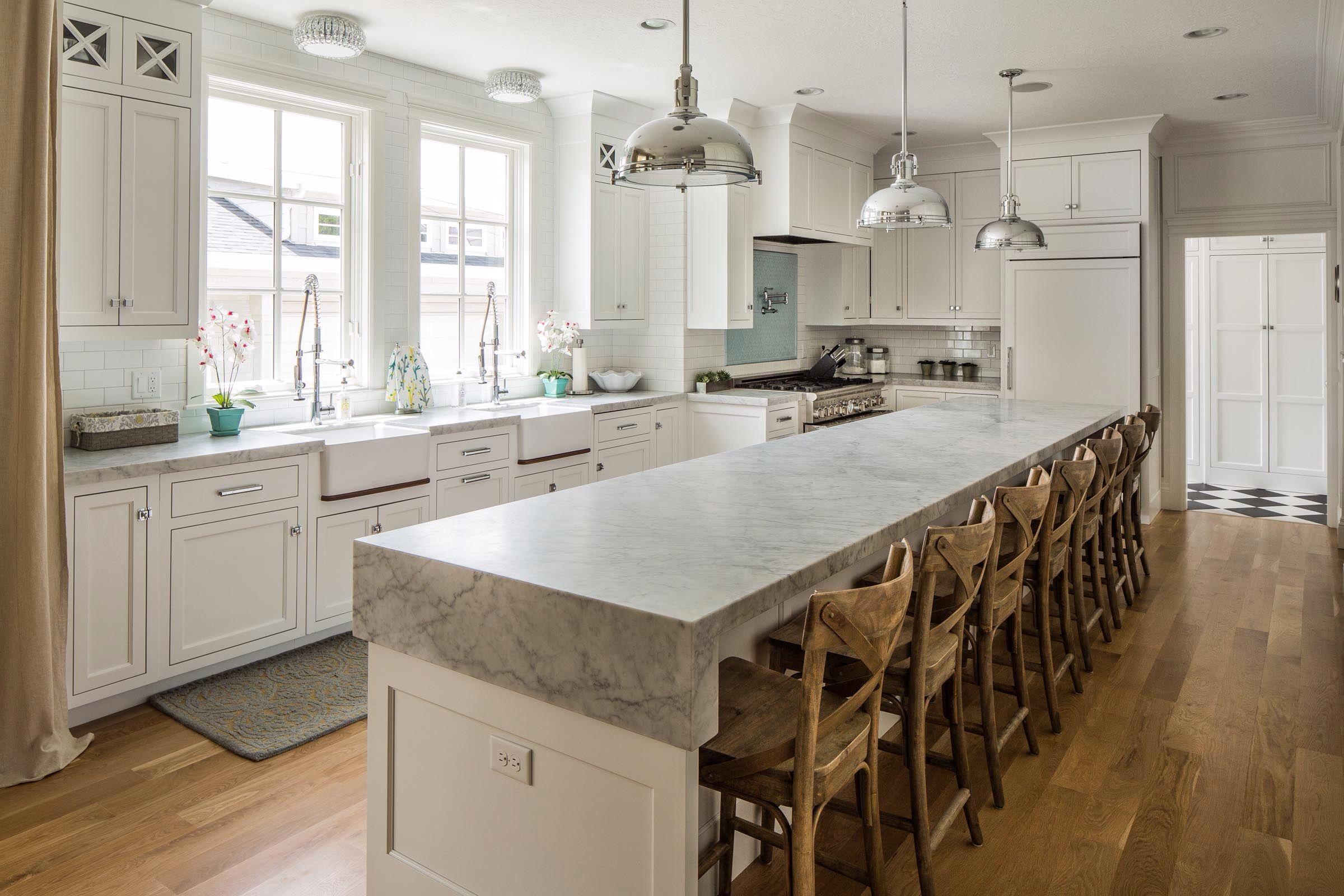 Inset White Cabinetry Benjamin Blackwelder Cabintery Kitchen