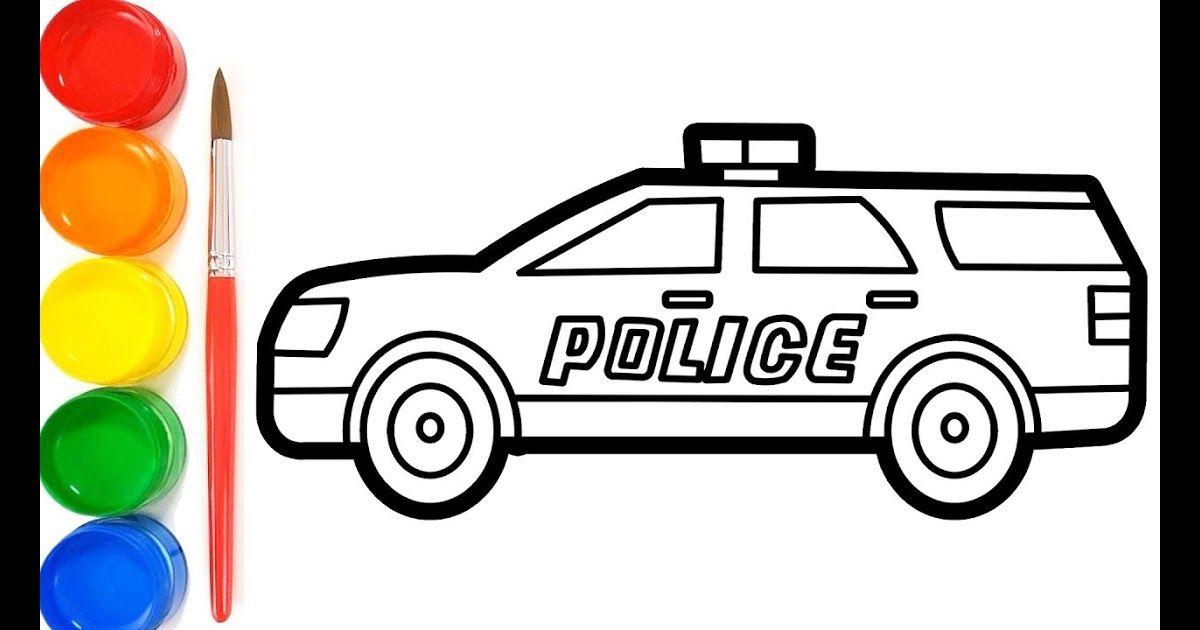 Ide Terpopuler 38 Gambar Kartun Mobil Offroad Mobil Polisi Kartun Anak