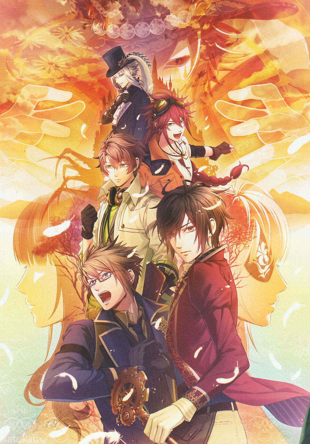 katokathy (Posts tagged Code:Realize ~白銀の奇跡~) in 2020 | Code realize. Romantic anime. Coding