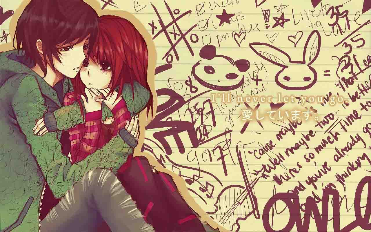 Romantic Anime Couples Wallpapers HD Images - HD Wallpapers Images ...