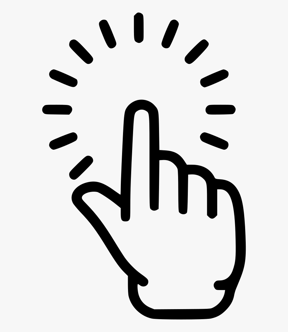 Pointing Finger Icon Png Transparent Background Finger