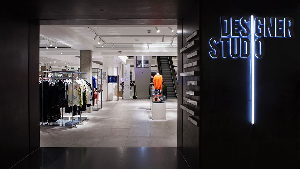 Selfridges Designer Studio Nulty Projects Retail In 2019