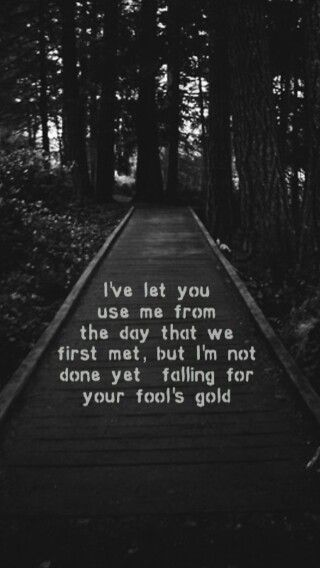 Fools gold lyrics - One Direction One Direction Pinterest - paredes con letras