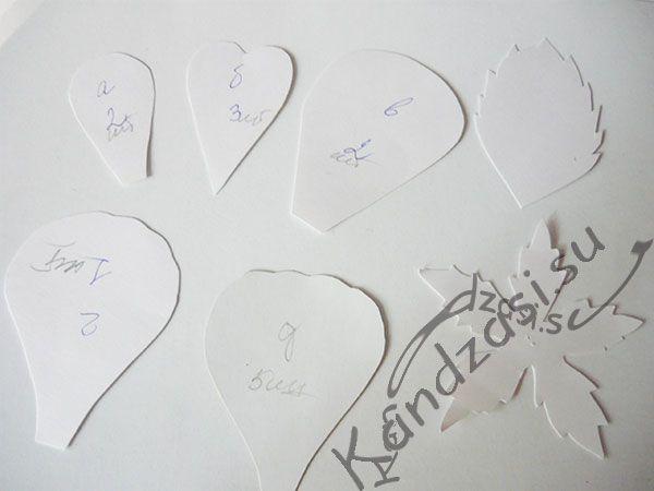 Мастер класс изготовления цветов розы <em>изготовлению</em> из фоамирана, фото-инструкция