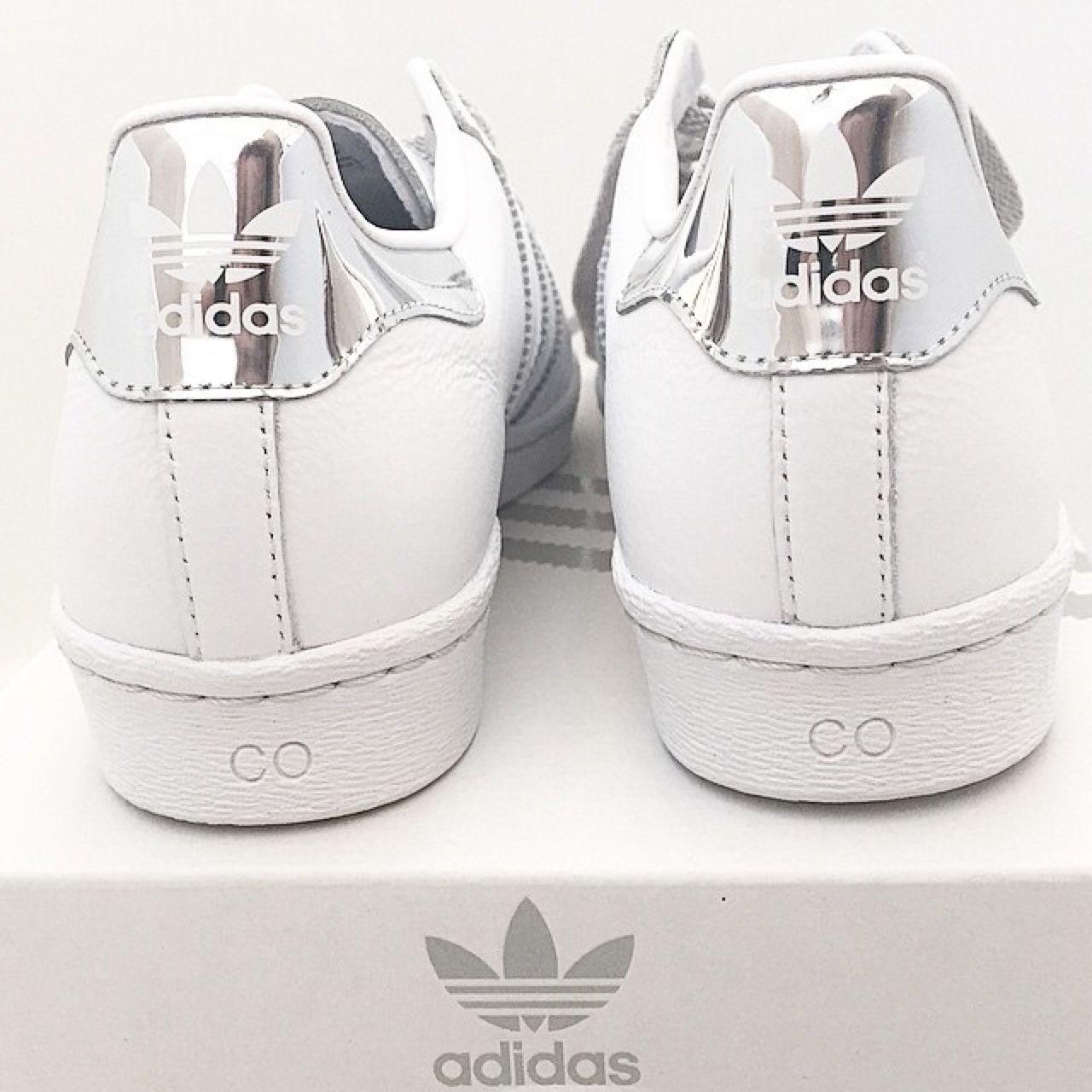 adidas superstar mujer silver