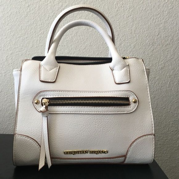 Christian Siriano small purse White small bag perfect for carry on to run  errands in the summer! Perfect conditions Christian Siriano Bags Mini Bags 1bc773b8801c