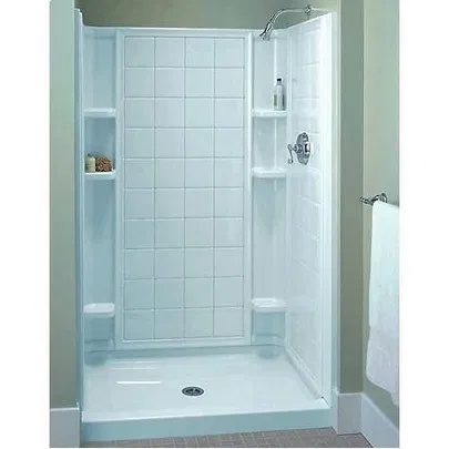 Replace Your Old Showers With Fiberglass Shower Enclosures Kidzarea Fiberglass Shower Shower Stall Shower Enclosure Kit