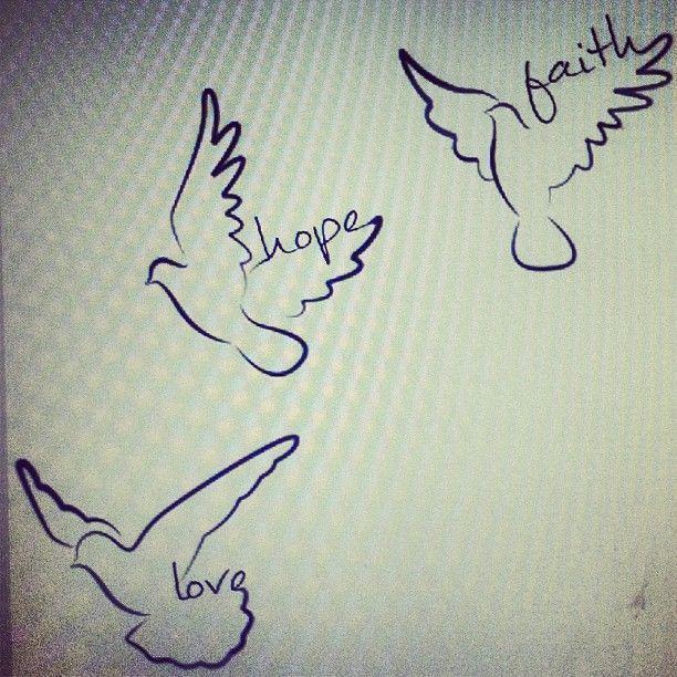 Photo of Friend Tattoos – Glaube Hoffnung Liebe Tattoo Designs