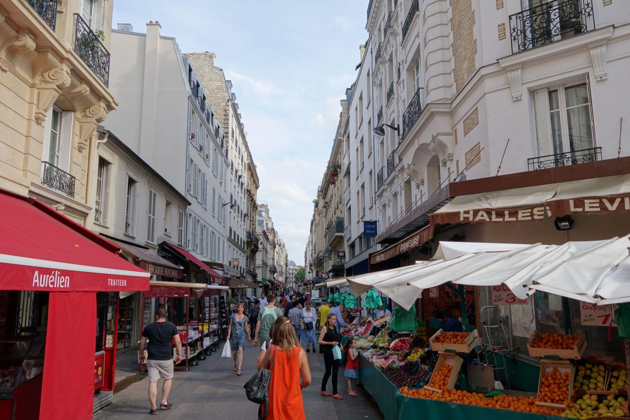 Spaces Rue De Londres rue de lévis - market street | travel dreams, paris, la france