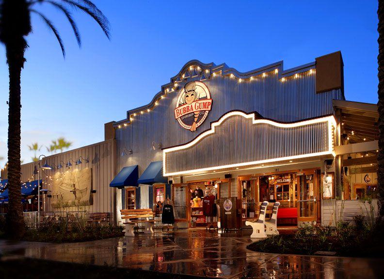 Restaurants In Garden Walk Anaheim Ca: Bubba Gump Shrimp Co. Restaurants