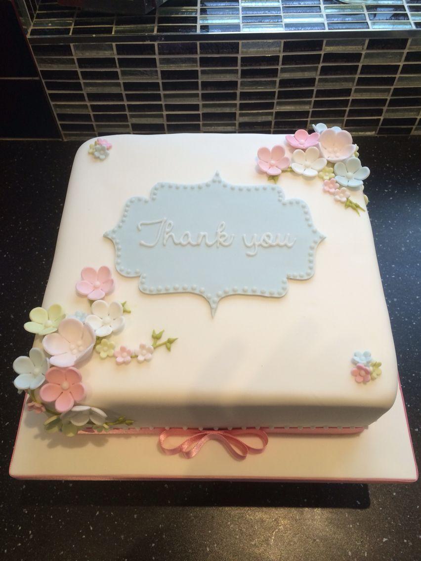 Thank You Cake Decorating Cakes Cupcakes Etc Cupcake