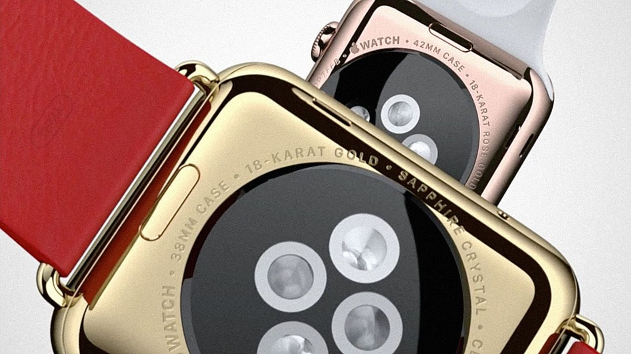digital business card apple watch band