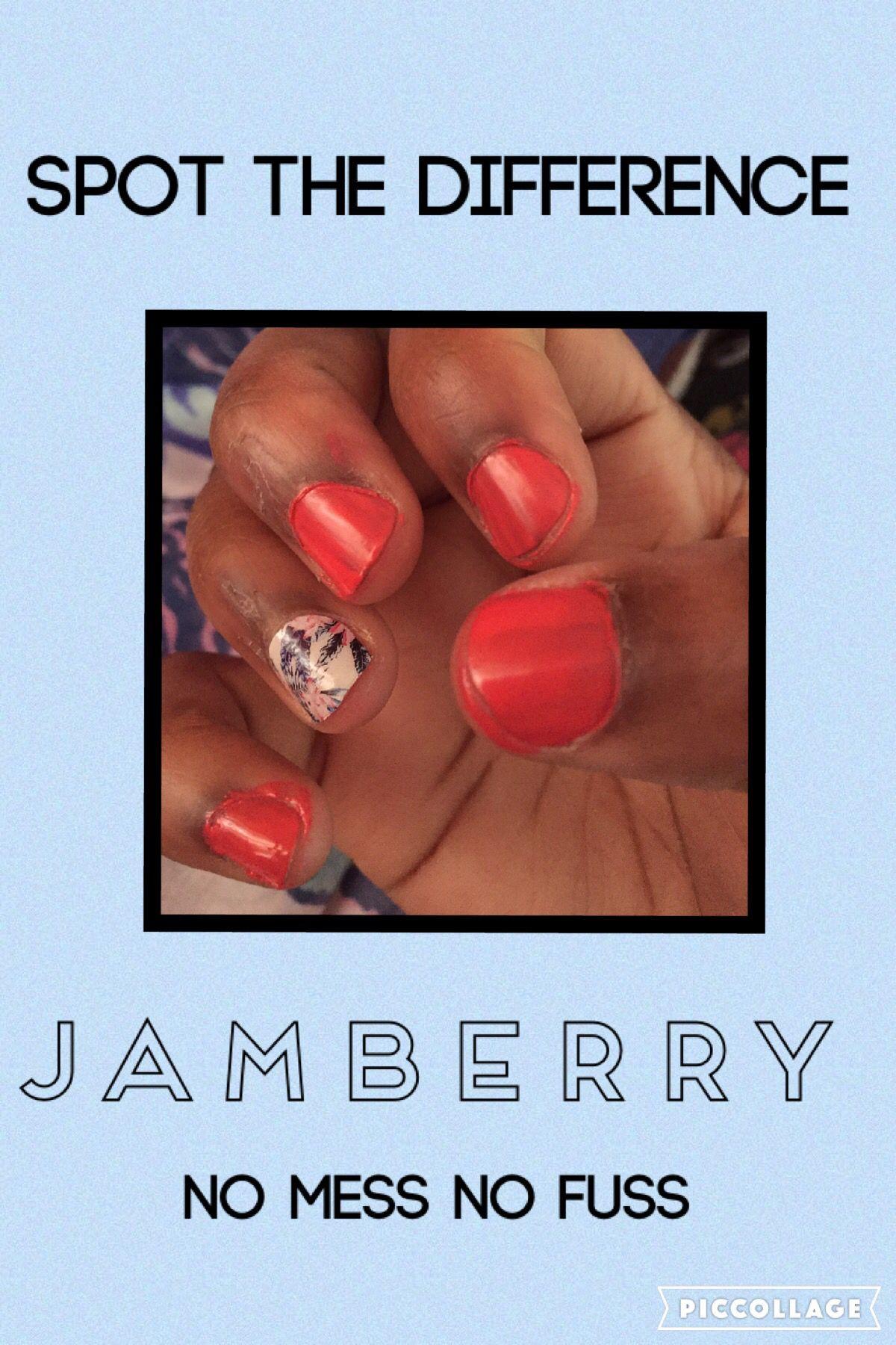 Jamberry no mess no fuss