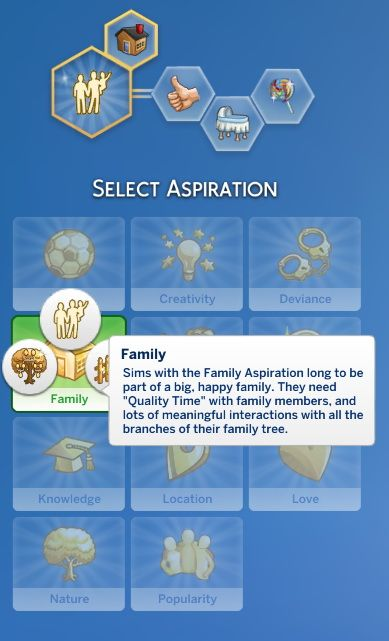 Mod The Sims: Family Aspiration by jackboog21 • Sims 4