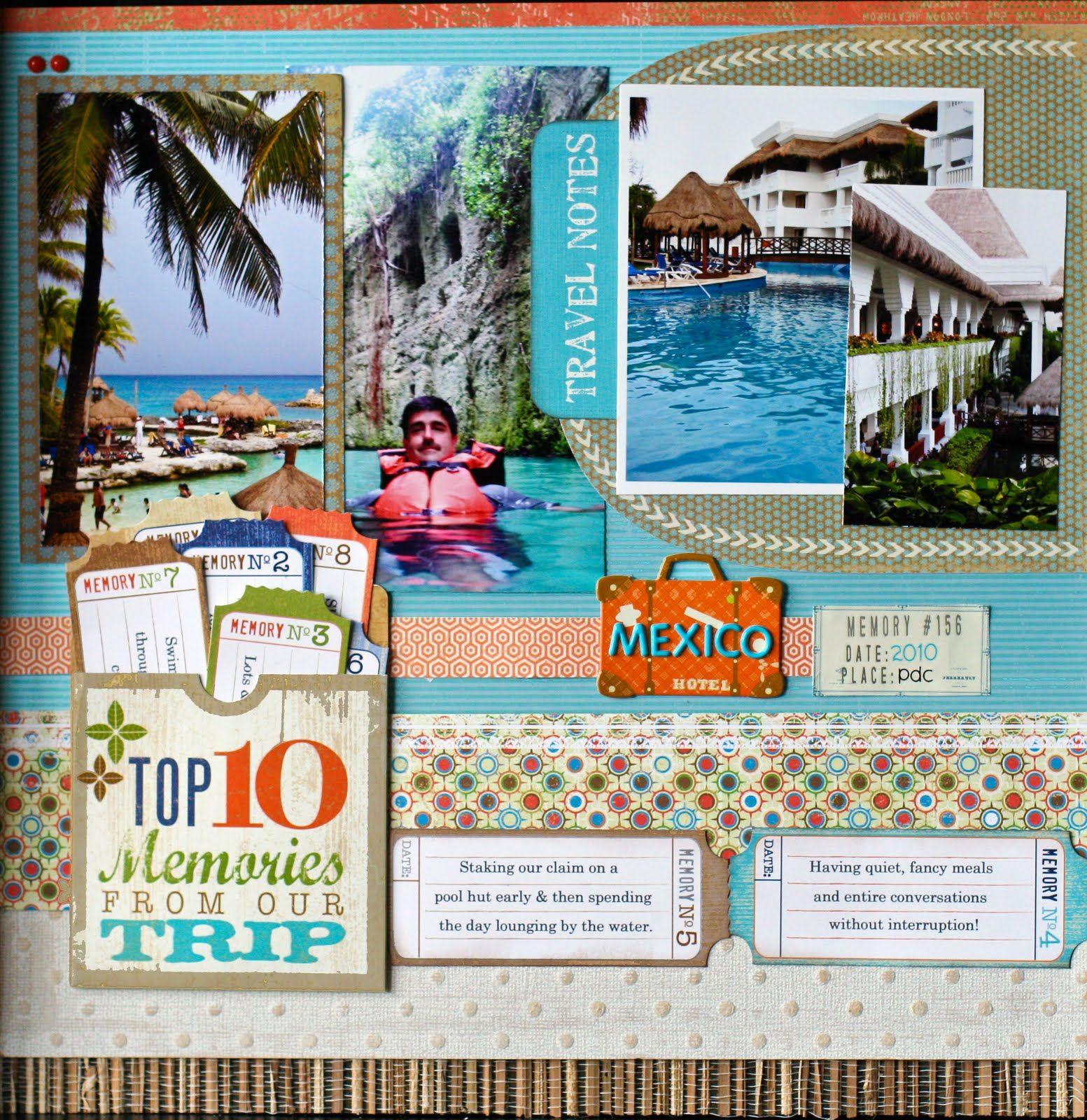 11 Great Scrapbook Ideas For Summer Scrspbooking