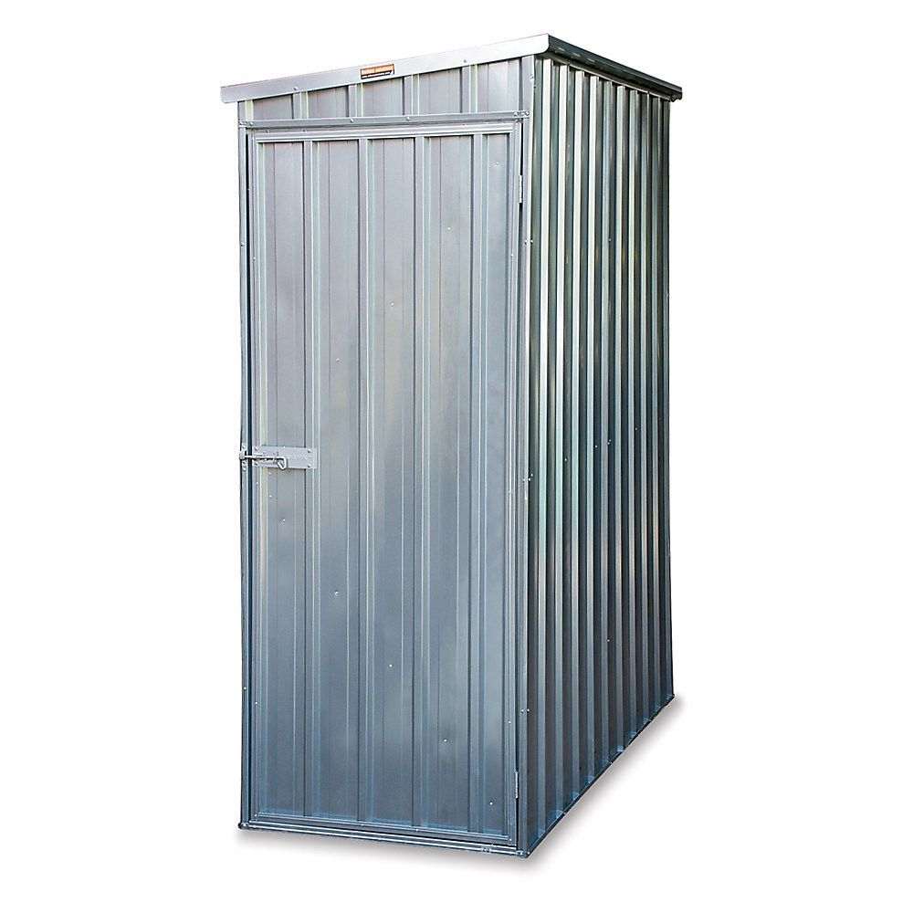 Outdoor Utility Steel Storage Shed 59 W X 32 D X 75 H Steel Storage Sheds Shed Storage Storage