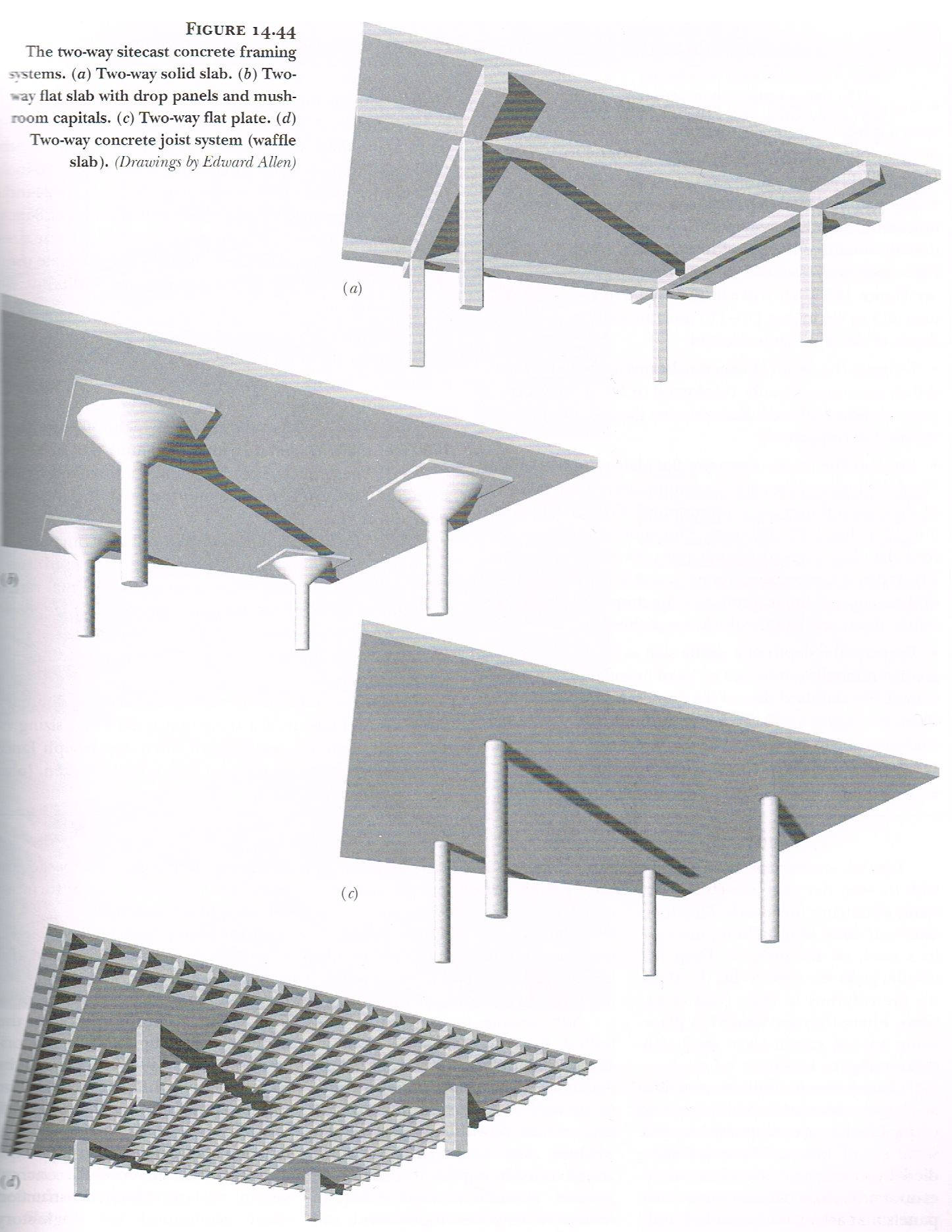 Tow Way Concrete Slab Systems Fundamentals Of Building Construction Book Structure Design Construction Design Architecture Building Design