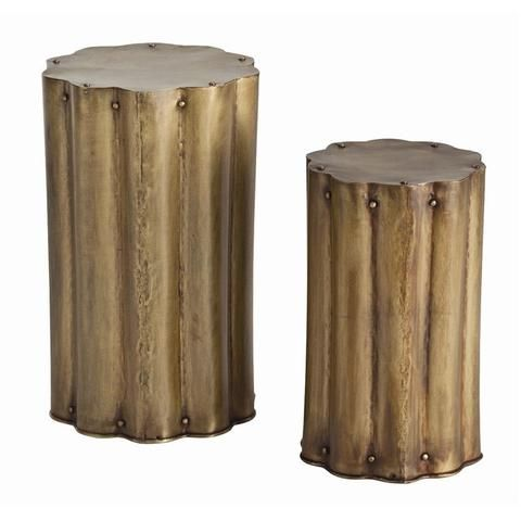 """Jabe Accent Tables (set of 2)_22.5""""H x 13.5""""Dia"""