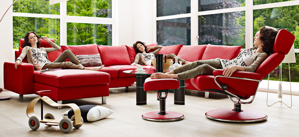 $3,795.00 It's time for Stressless Jazz. With it's elegant lines, smooth surfaces and stainless steel curves, the award-winning Stressless Jazz recliner truly lives up to its name.