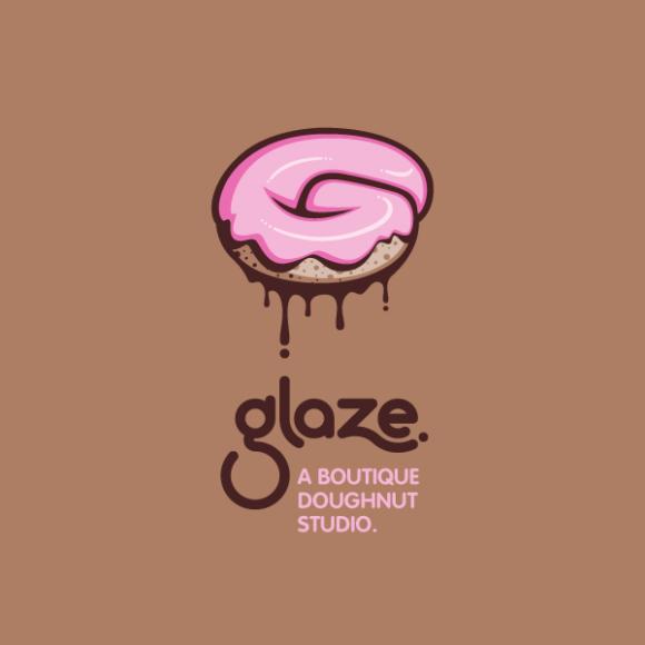 Logo for a trendy, metropolitan bakery that allows